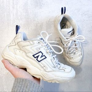 New balance • vintage white 606 sneakers